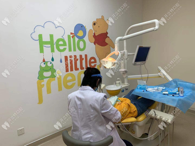 壹舟口腔儿牙诊疗室环境