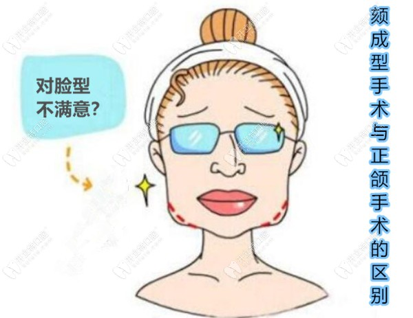 做牙齿矫正前要先弄清颏成型手术与正颌手术的区别哦
