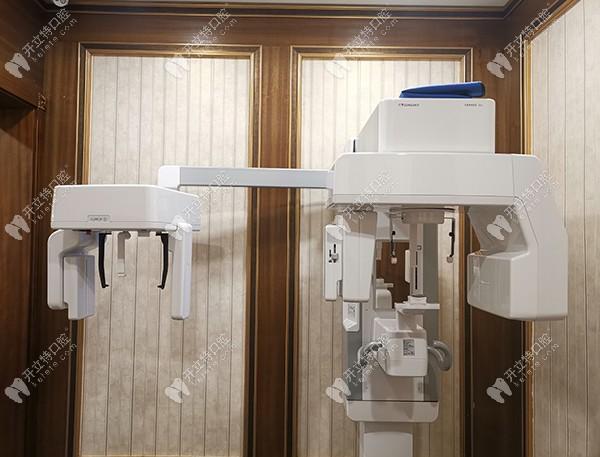 至美口腔引进的设备CT机