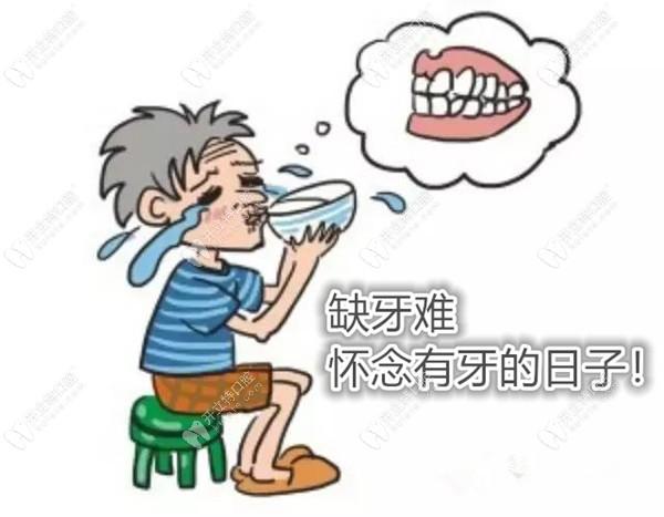牙龈萎缩选吸附性义齿修复