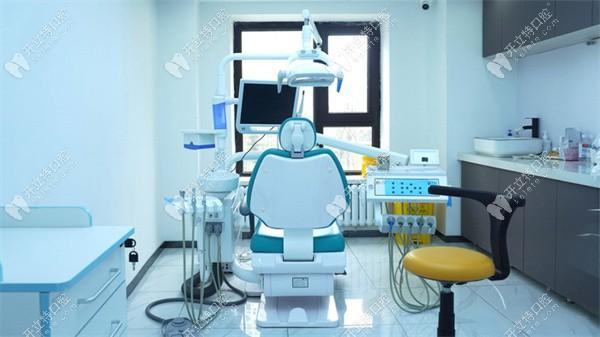 美植口腔干净的诊疗室
