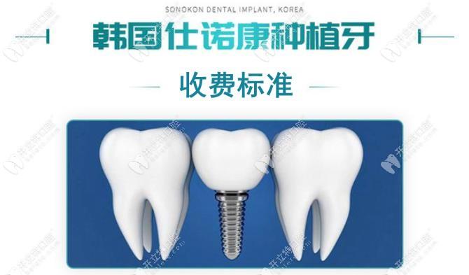 揭秘长春传阳口腔的韩国仕诺康种植牙多少钱一颗及其优势