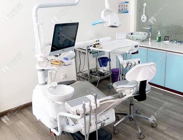 唯美口腔的诊疗室